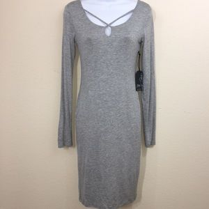 Popular Basics Bodycon Long-sleeve dress